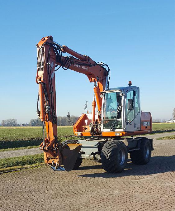 Mobiele graafmachine 14-16 ton